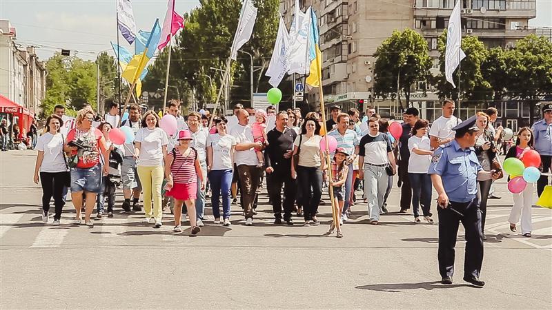 Фестиваль семьи в Запорожье 30.05.2015г.